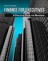 Cover book finance for executives